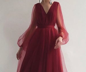 2020, red, and dress image