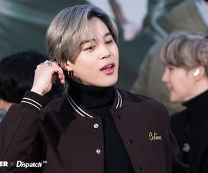grey hair, bts, and jimin image