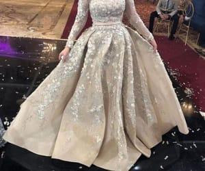 soiree dress hijab image