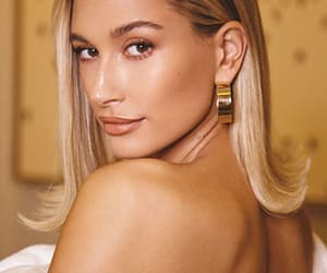 beauty, hailey baldwin, and model image