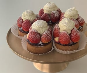 dessert, food, and cream image