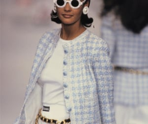 90s, baby blue, and chanel image