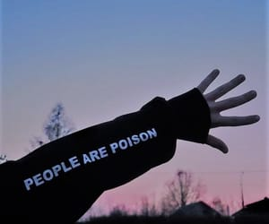 aesthetic, poison, and people image