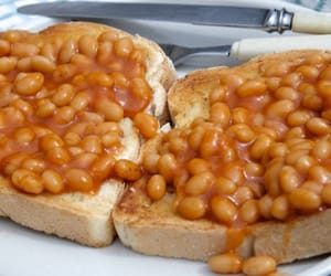 breakfast, britain, and food image