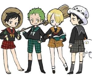 anime, kawaii, and zoro image