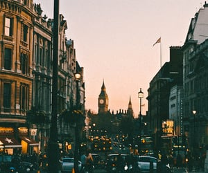 city, travel, and london image