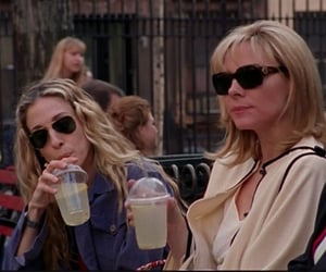 aesthetic, scene, and Carrie Bradshaw image