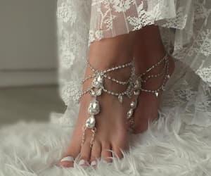 etsy, slave bracelet, and boho sandales image
