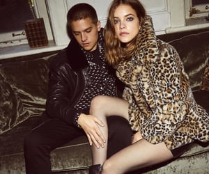 dylan sprouse, barbara palvin, and model image