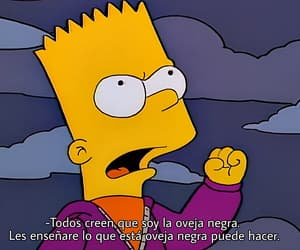 bart, simpsons, and oveja negra image