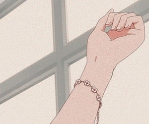 aesthetic, anime, and arm image