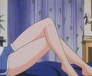 aesthetic, anime, and chill image