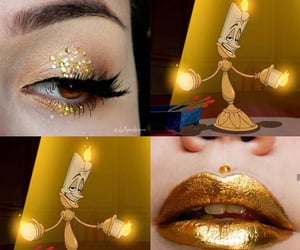 maquiagem, lallymakeup, and beauty and beast image