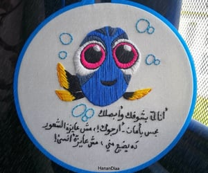 cartoon, handembroidery, and embroideryart image
