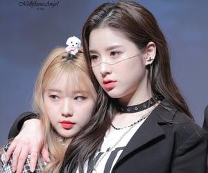 hq, yeojin, and heejin image