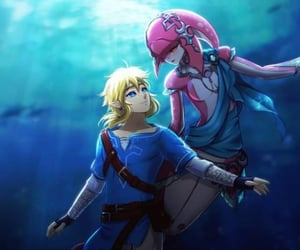 zelda and mipha image