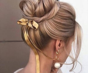 blond hair, hair, and hairstyle image