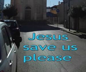 chiesa, jesus, and light blue image