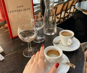 accessories, restaurant, and but first coffee image