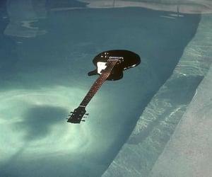 guitar, nirvana, and pool image