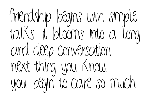 friends quotes | Tumblr discovered by Danielle-Arlene