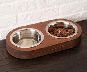 etsy, cat dish, and cat food bowls image