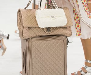 beige, luggage, and sandal image