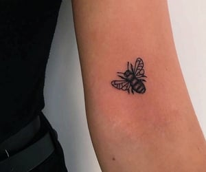 bee, inked, and tattoo image
