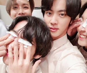army, jin, and korean image