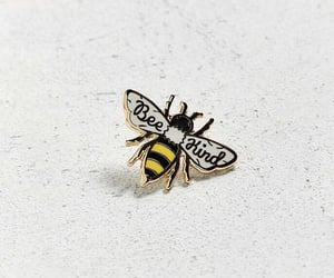 aesthetic, bee, and pin image