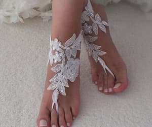 etsy, bridesmaid gifts, and beach wedding shoes image