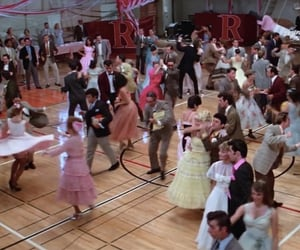 50s, grease, and movie image