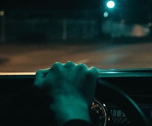 car, drive, and night image