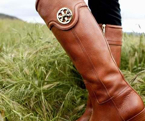 boots, shoes, and tory burch image