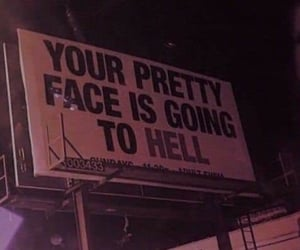 hell, grunge, and aesthetic image