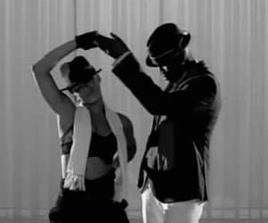 dance, music video, and 2008 image