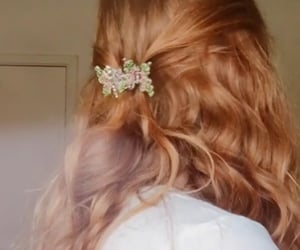 aesthetic, curls, and ginger image