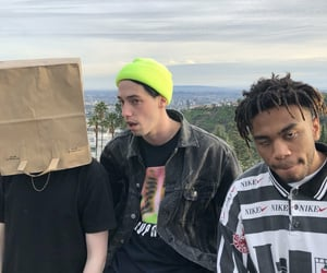 bearface, ian simpson, and kevin abstract image