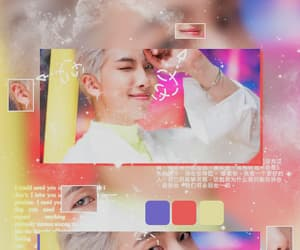 aesthetic, rm, and rap monster image