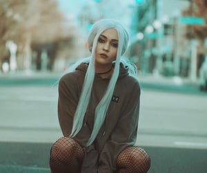 bluehair, fishnets, and city image