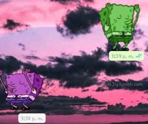 best friend, bob esponja, and chat image