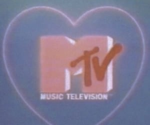 aesthetic, blue, and mtv image