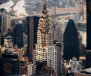 Central Park, empire state building, and new york city image