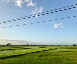 azul, green, and paisaje image