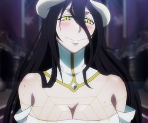 anime, girl, and overlord image