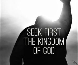 god, jesus, and jesus christ image