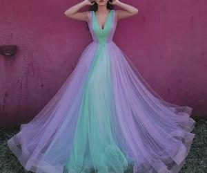 prom dress, prom gown, and vestido de festa image