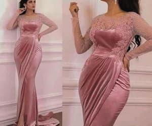 formal dress, robe de soirée, and elegant evening dress image