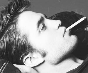 black and white, photoshoot, and robert pattinson image