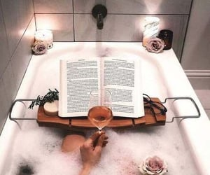 relax, selfcare, and bath image